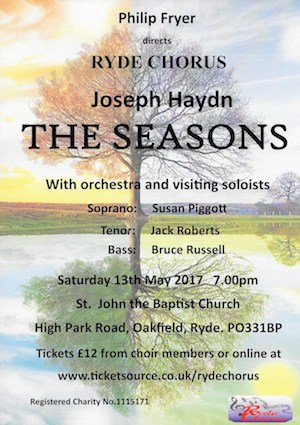 Haydn's The Seasons Poster