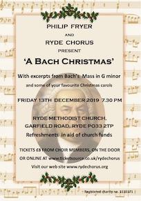 Bach Christmas Poster